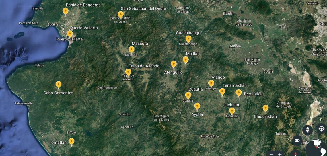 Municipios DOR
